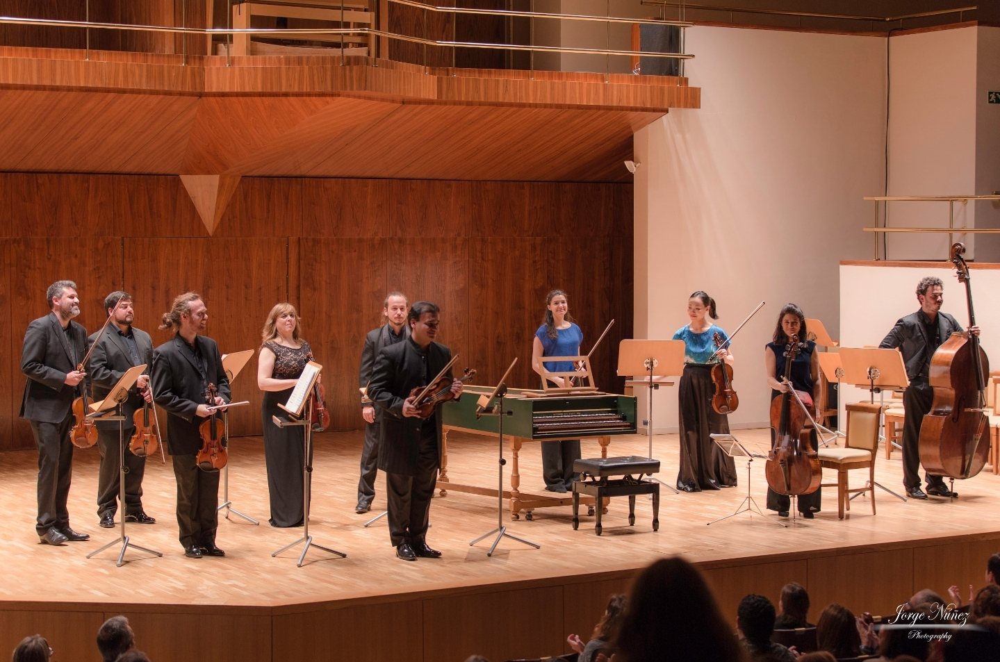 Madrid Soloists Chamber Orchestra together