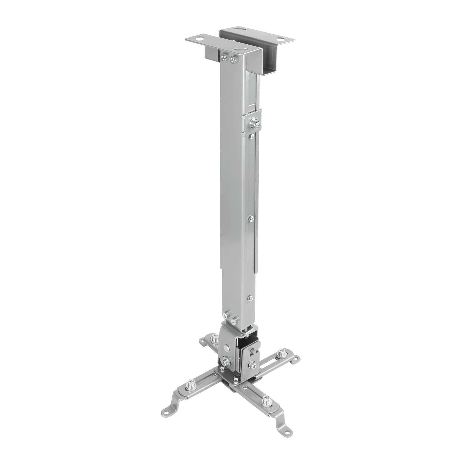 SOPORTE PROYECTOR PJ2012T-S INCLINABLE TECHO PLATA