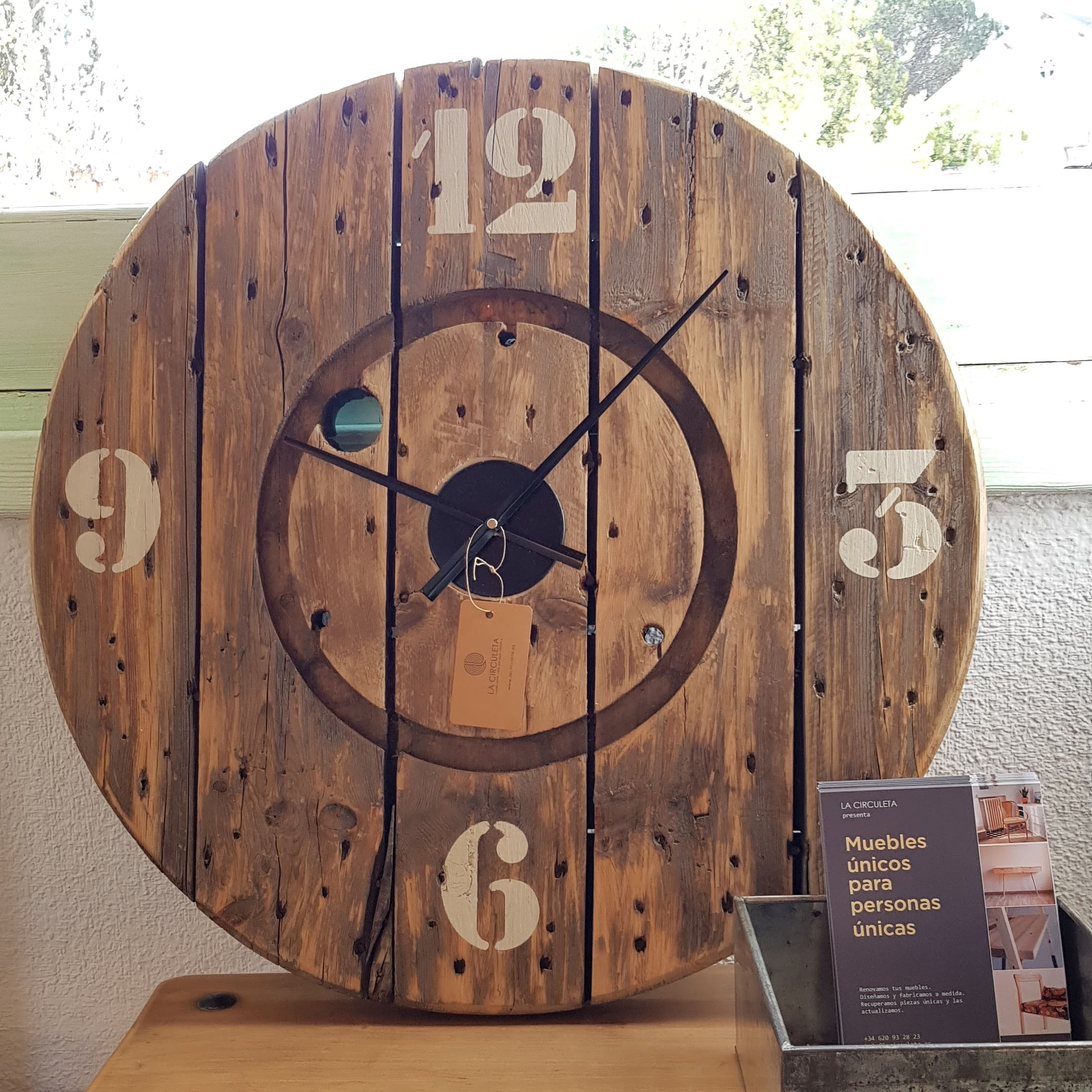 Reloj de pared Industriel - VENDIDO