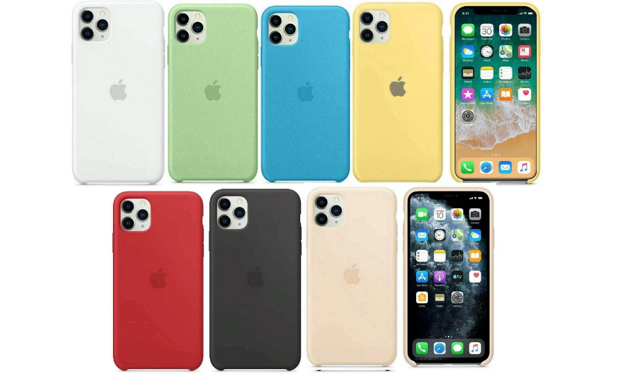 funda de iphone colores varios