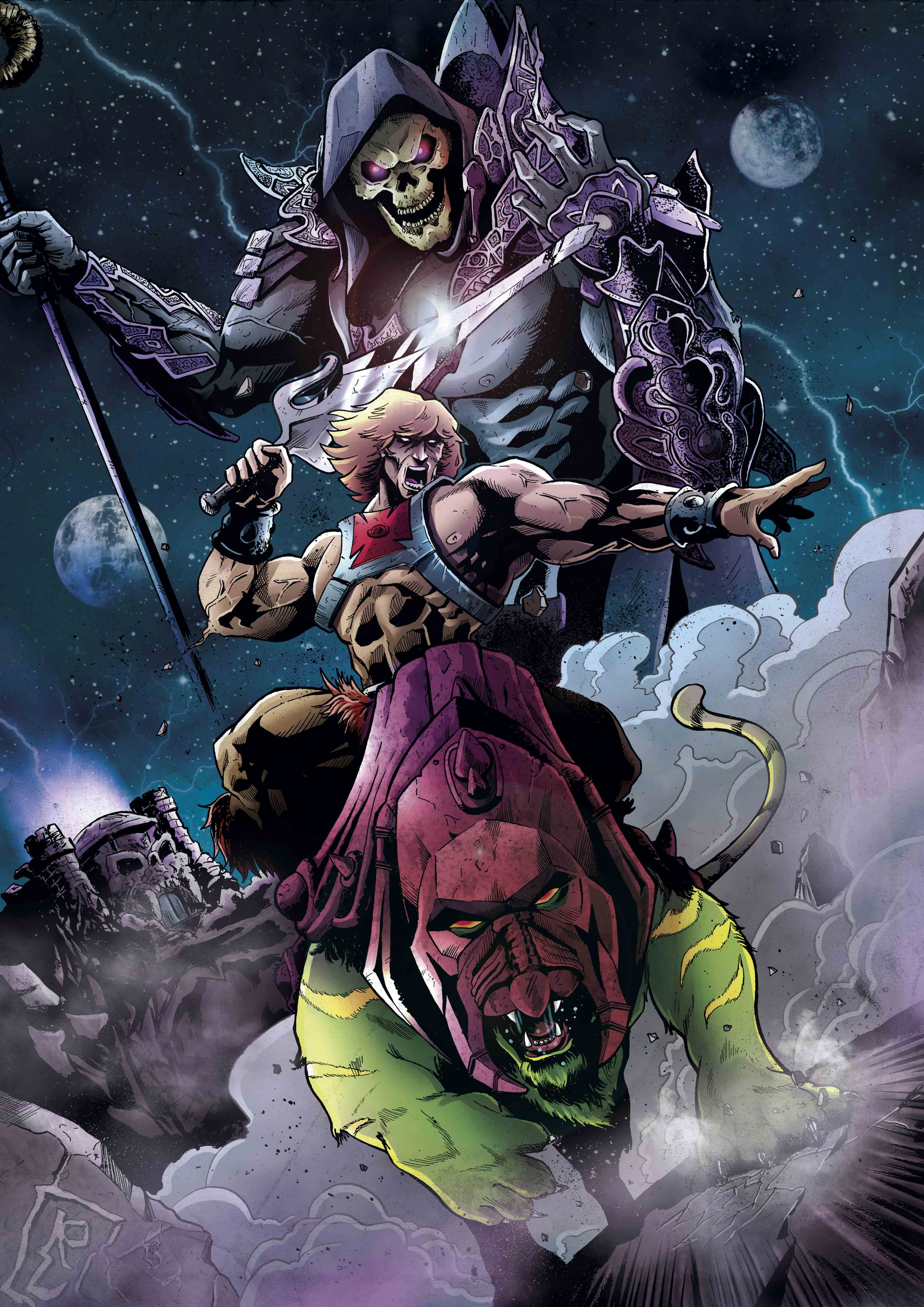 """MASTERS OF UNIVERSE"""