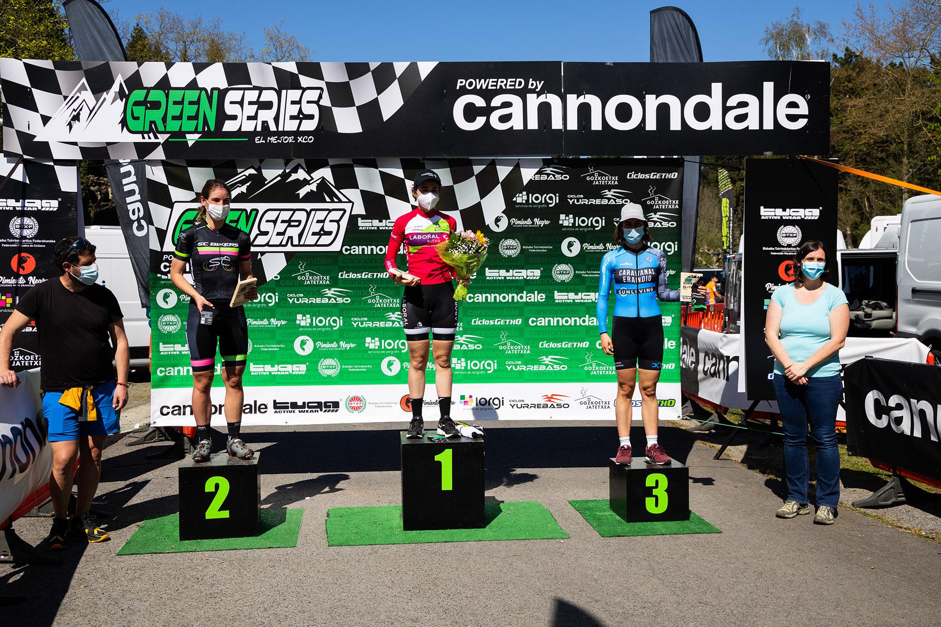 Green Series Challenge XC0 powered by Cannondale 1 Erandio Podium Elite Feminasjpg