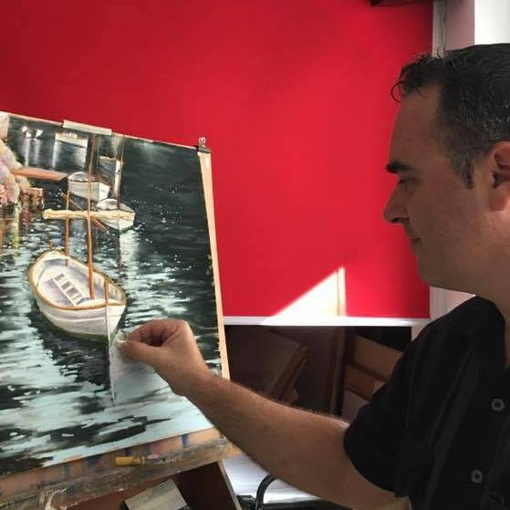 Toni Bennasar. Fundador y director de Art-Pastel