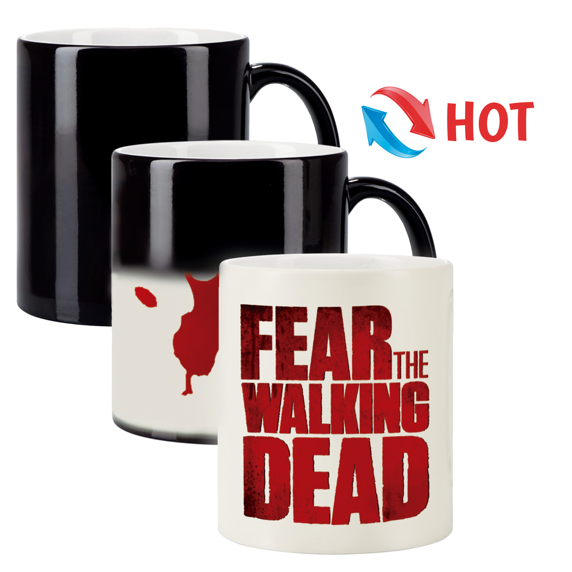Taza Mágica Spin-Off The Walking Dead