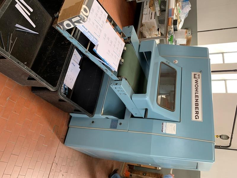 WOLHEMBERG THREE KNIFE TRIMMER 38FA