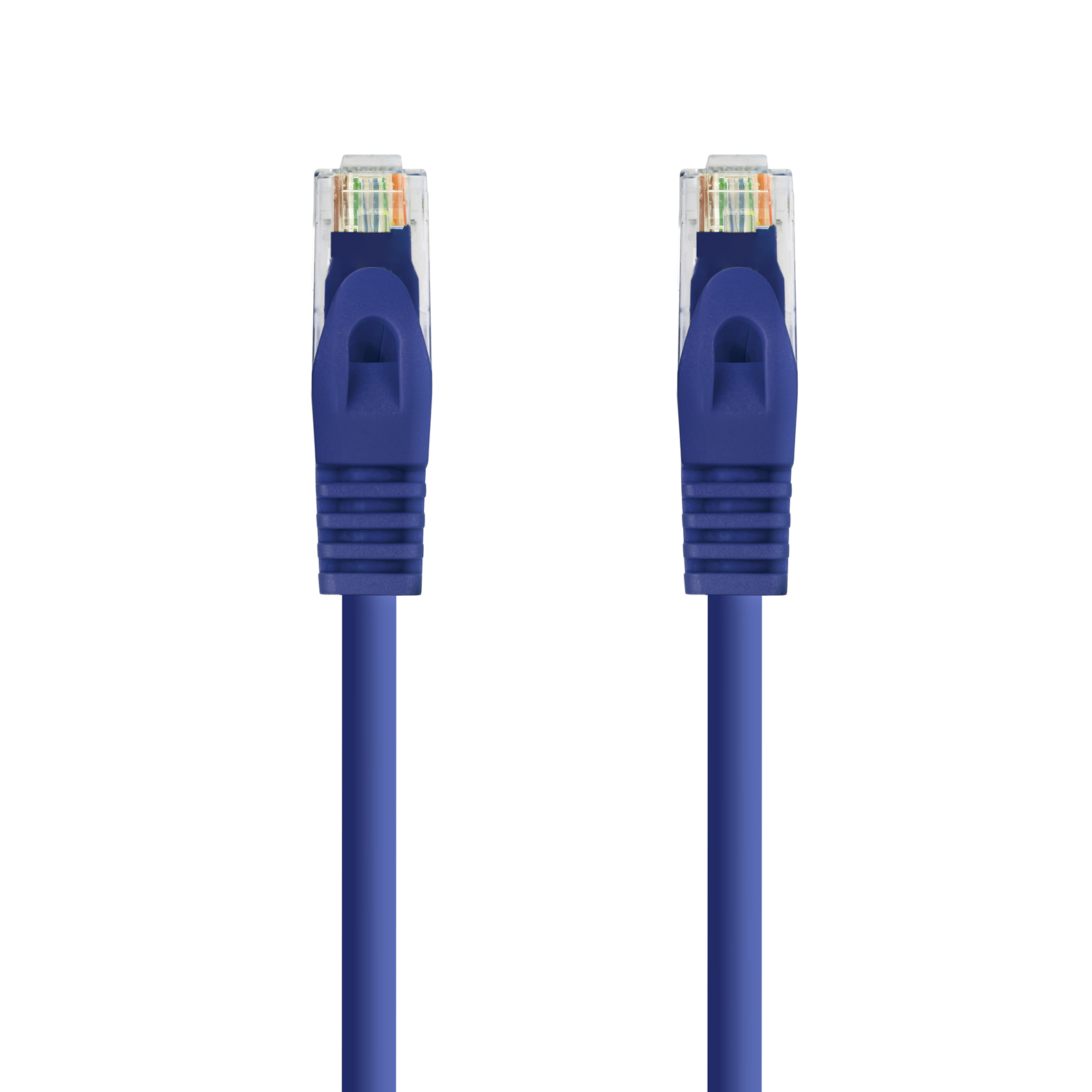 CABLE RED LATIGUILLO RJ45 LSZH CAT.6A UTP AWG24 AZUL 1.0 M