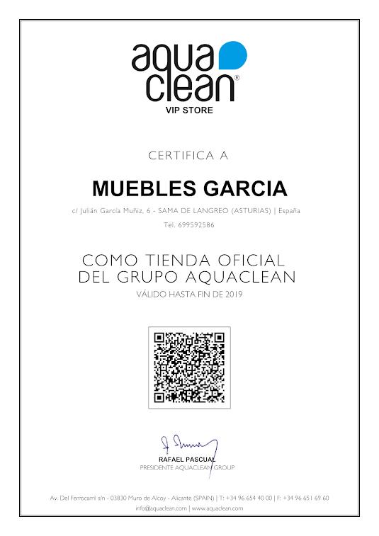 Tienda oficial sofás Aquaclean en Asturias