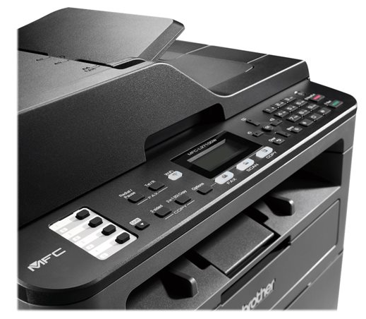Brother MFC-L2710DW - impresora multifunción - B/N