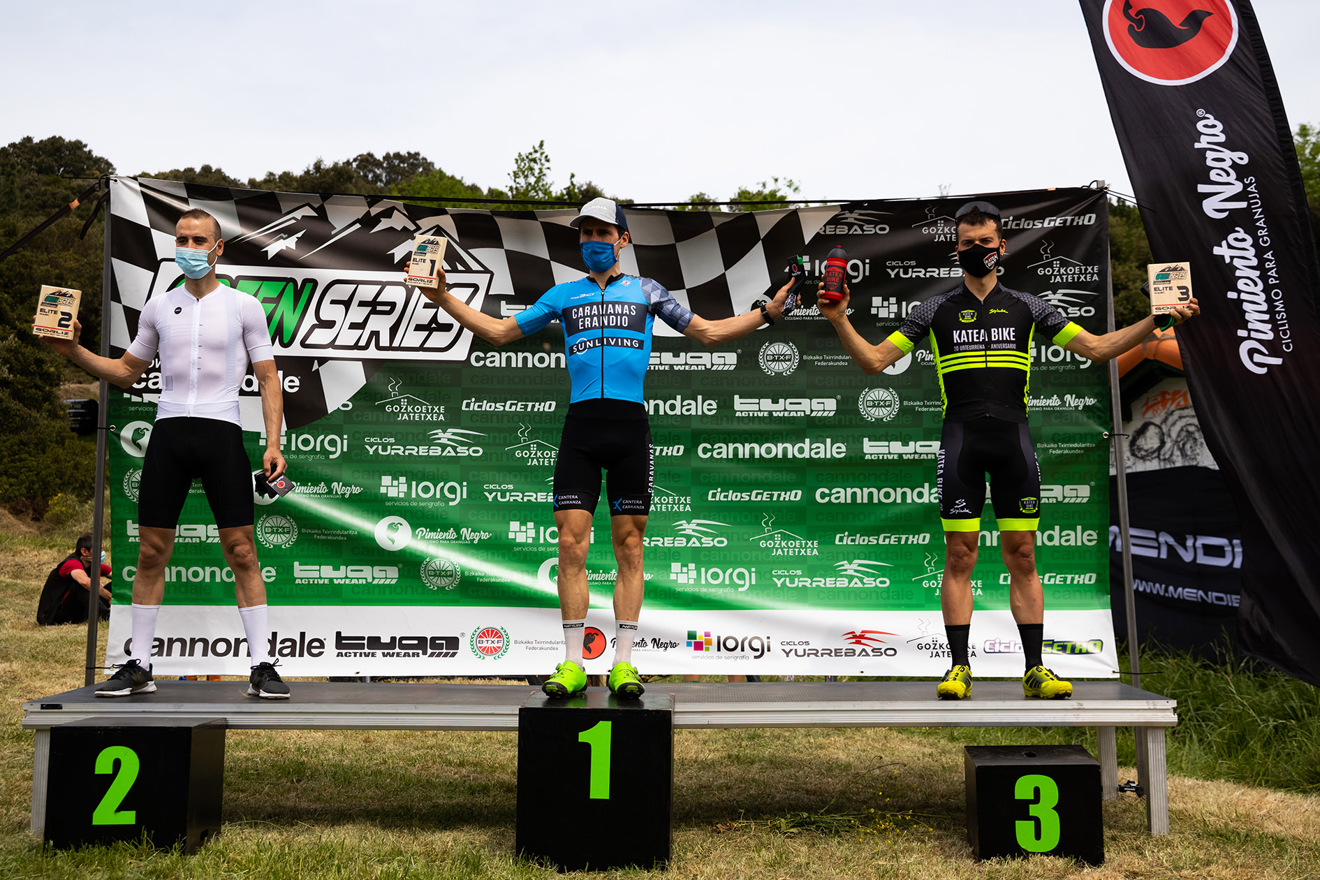 Green Series Challenge XCO powered by Cannondale podium Elitejpg