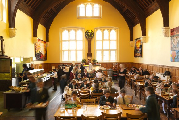 Comedor de Friends' School en Cambridge