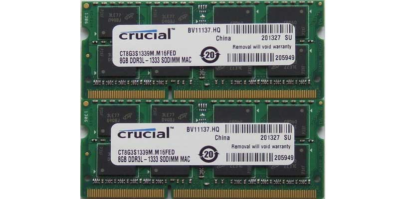Ampliar memoria Ram Macbook imac mac pro