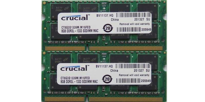 Ampliar memoria Ram Macbook imac mac pro