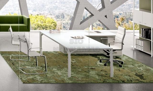 Mesas de despacho de cristal good mesas de oficina cristal serie gamma with mesas de despacho - Mesas despacho cristal ...