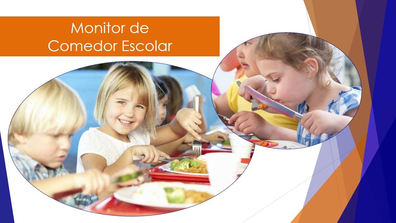 AVANTI - Monitor de Comedor Escolar