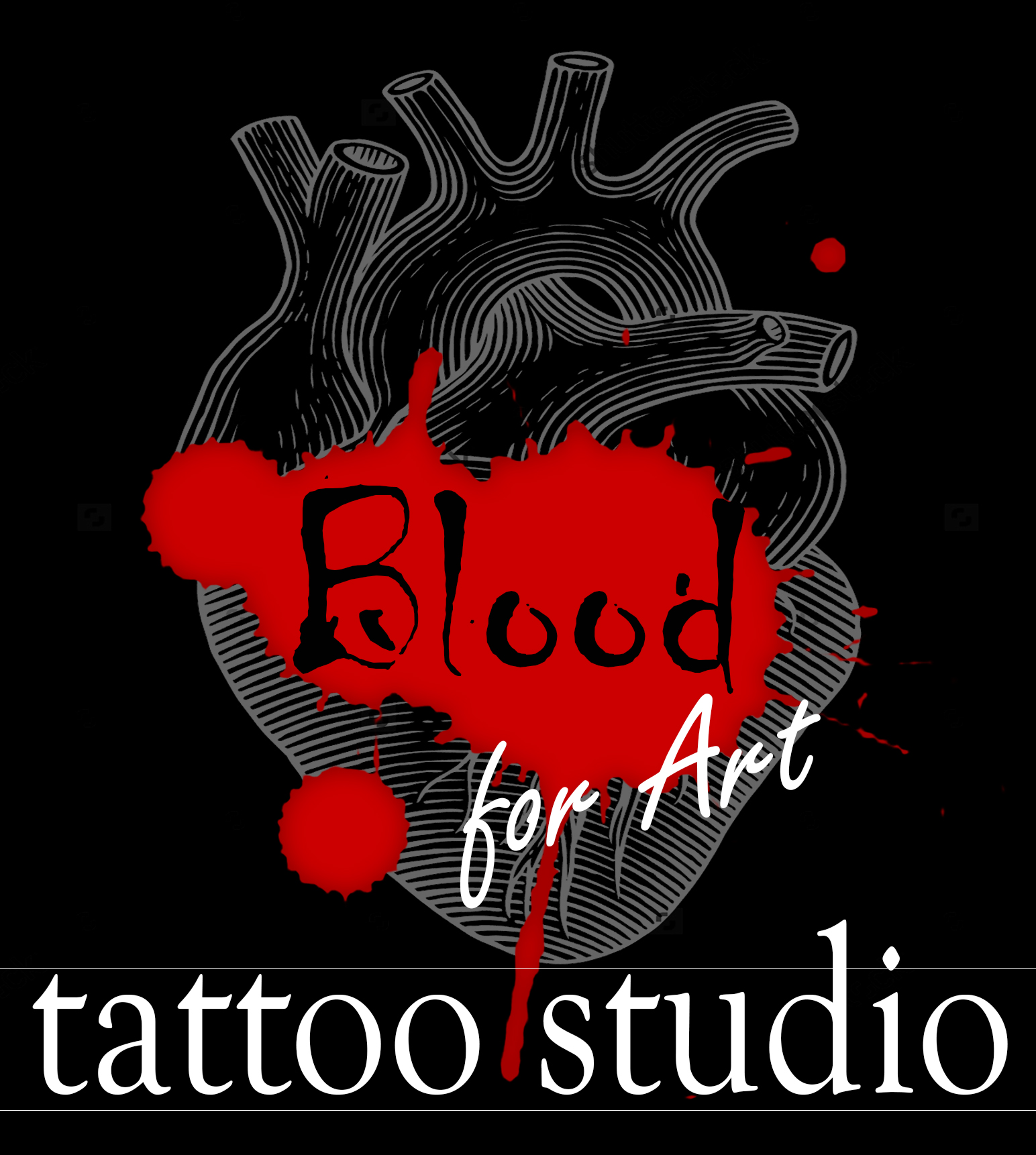 Blood For Art Tattoo