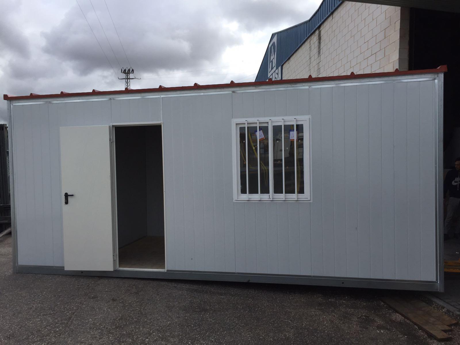 Casetas de obra viviendas prefabricadas for Casetas para banos
