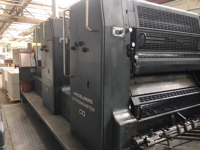 Heidelberg CD 102-2 CON UV (SECADO)