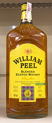 WHISKY WILLIAM PEEL SABORES 70CL