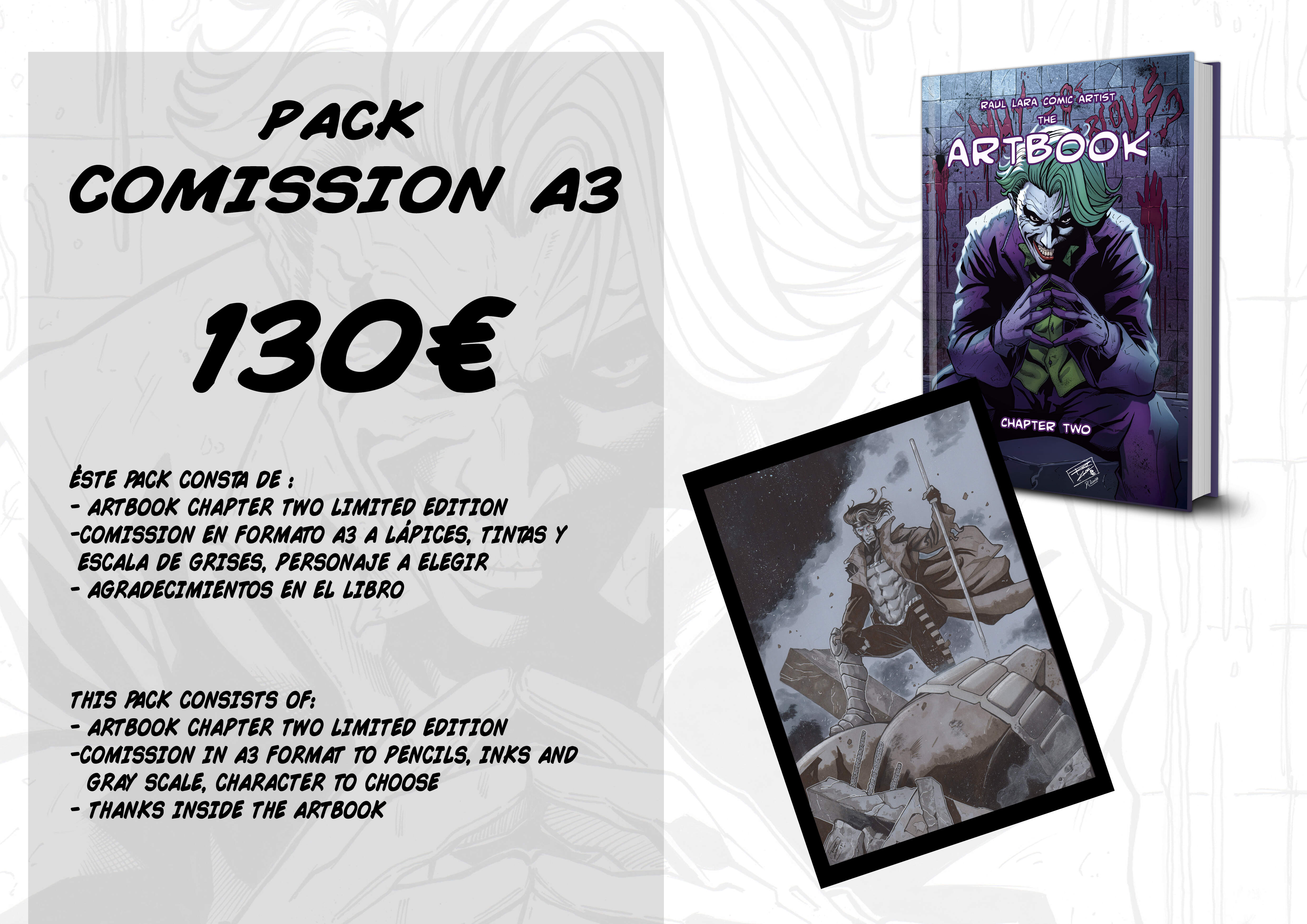 THE ARTBOOK CHAPTER TWO LIMITED EDITION  PACK 5