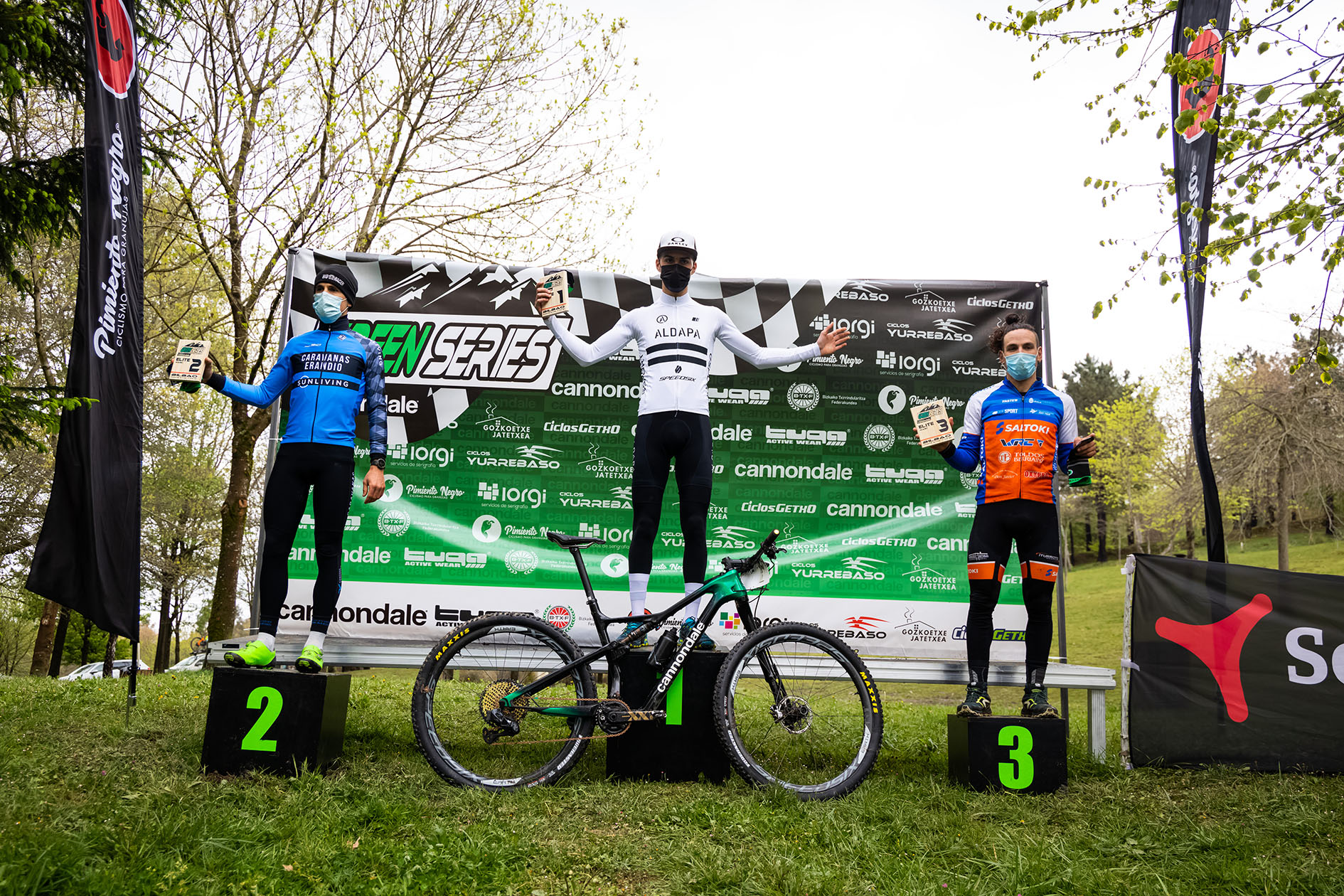 Green Series XCO powered by Cannondale 2 Bilbao podium Elitejpg