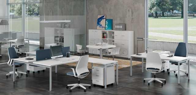 SIO Mobiliario Oficina Madrid - Mesa de oficina IDEA 01