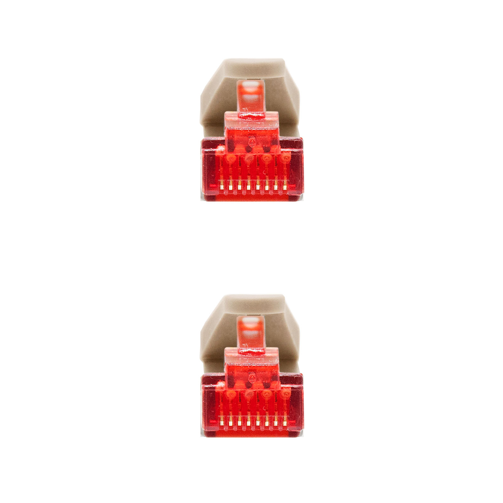 CABLE RED LATIGUILLO RJ45 CAT.6 SSTP PIMF FLEXIBLE AWG26 2.0 M