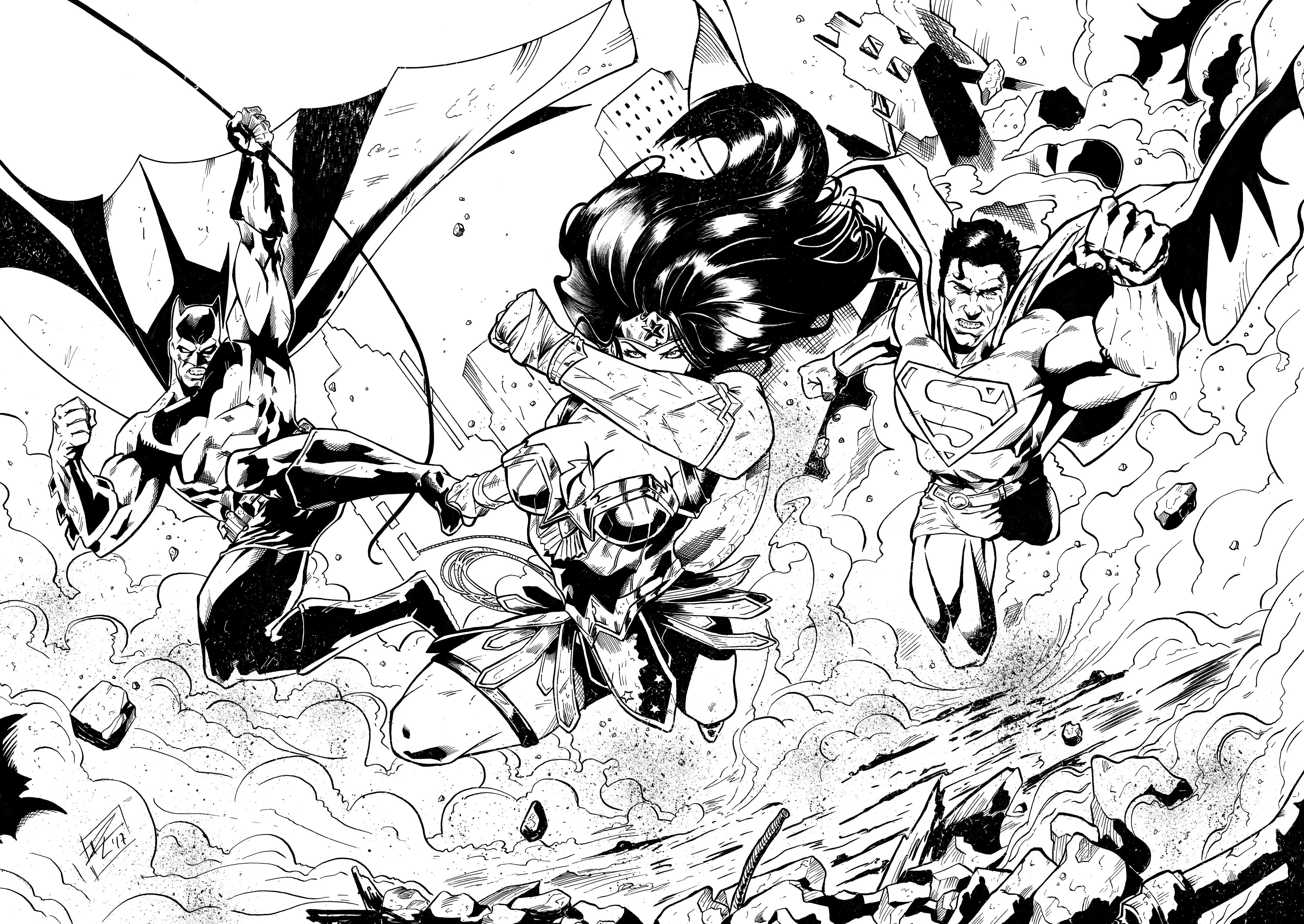 TRINITY (DOBLE SPLASH PAGE INKS)