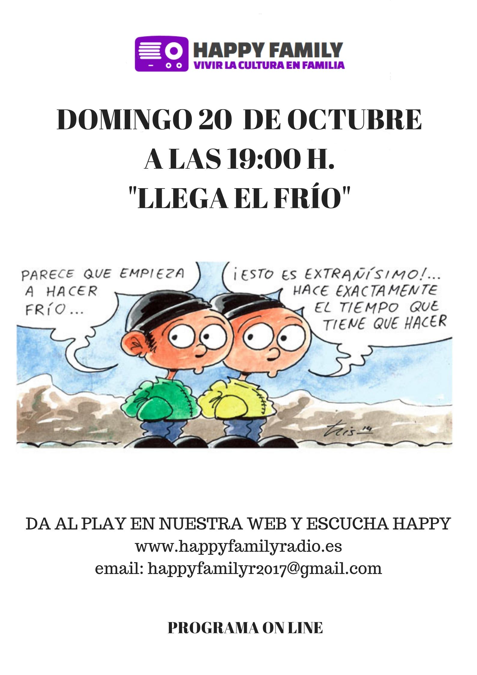 POSTER LLEGA EL FROjpg