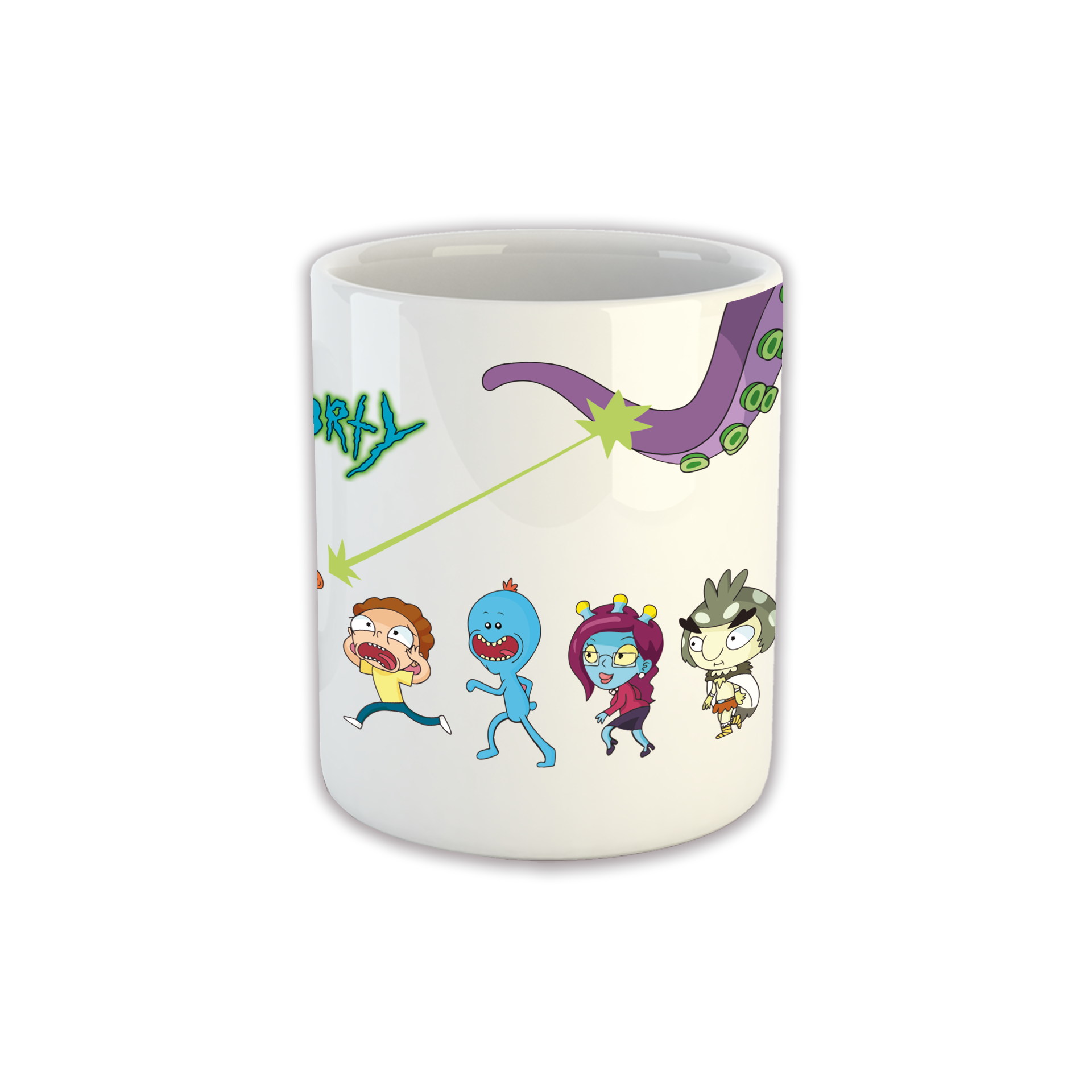 Taza Personajes Rick and Morty