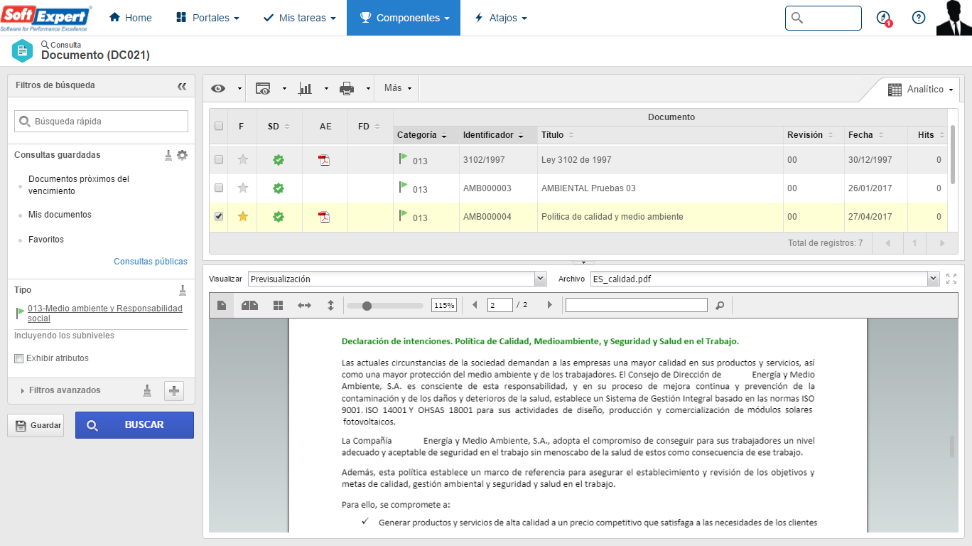Repositorio de Requisitos Legales y Documentación