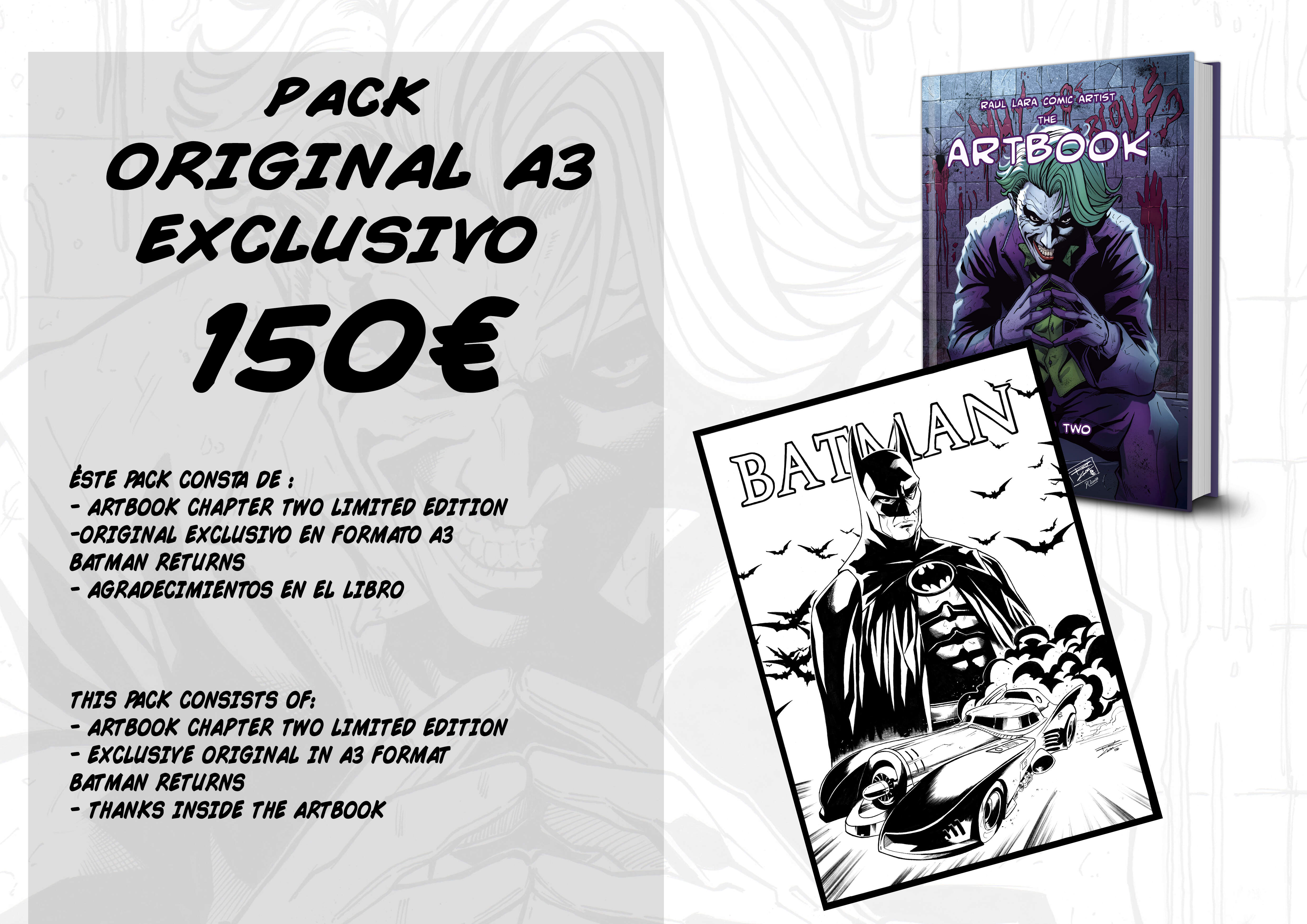 THE ARTBOOK CHAPTER TWO LIMITED EDITION  PACK 8