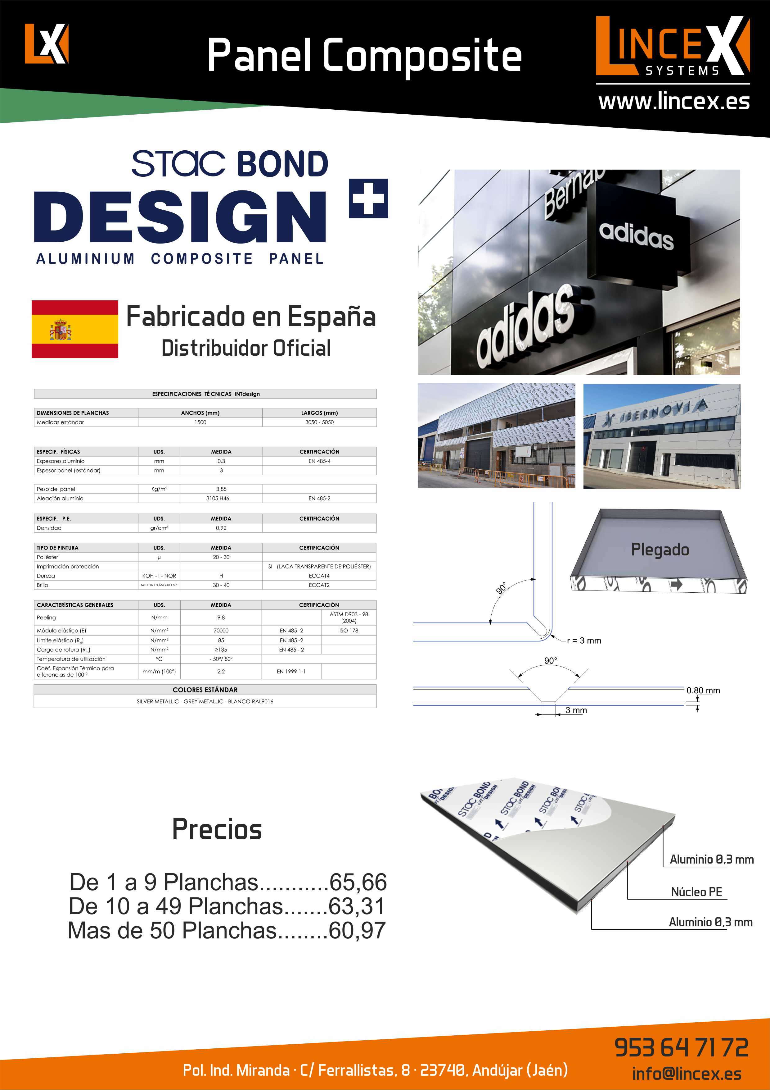 Panel Composite Made in Spain
