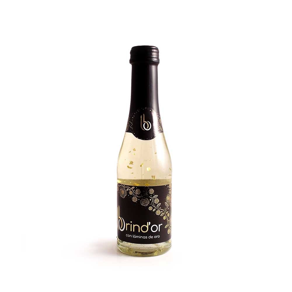 BRIND'OR CON LÁMINAS DE ORO 200ml